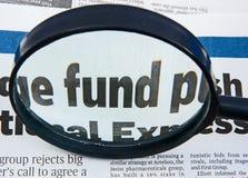 Fonds: Sparungen und Investition. Stockfoto