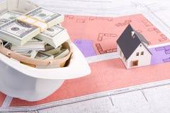Fonds voor nieuwe bouw Royalty-vrije Stock Foto