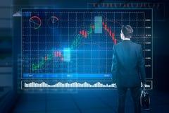 Fondsbeheer en financiënconcept Stock Afbeelding