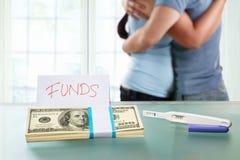 Fondsen voor zwangerschap Royalty-vrije Stock Afbeeldingen