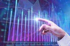 Fondsmanagementkonzept Stockbilder