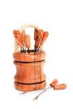 fondue δίκρανα που τίθενται Στοκ Φωτογραφίες
