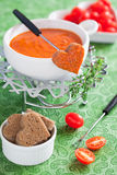 fondue ντομάτα Στοκ εικόνες με δικαίωμα ελεύθερης χρήσης