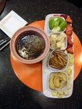 fondue σοκολάτας Στοκ φωτογραφίες με δικαίωμα ελεύθερης χρήσης