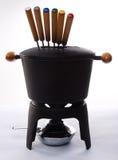 fondue σύνολο Στοκ εικόνα με δικαίωμα ελεύθερης χρήσης