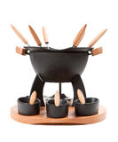 fondue σύνολο Στοκ φωτογραφίες με δικαίωμα ελεύθερης χρήσης