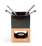 fondue σύνολο Στοκ Εικόνα
