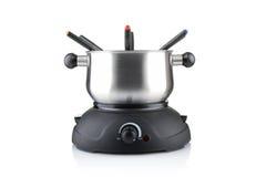 fondue σύνολο Στοκ εικόνες με δικαίωμα ελεύθερης χρήσης