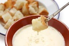 fondue сыра Стоковое Изображение