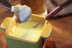 fondue сыра Стоковое фото RF
