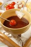 fondue шоколада Стоковое Фото