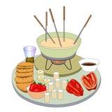fondue Стоковые Изображения