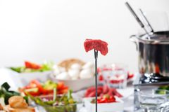 fondue Στοκ Εικόνες