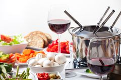 fondue Стоковые Фото