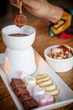 fondue Стоковые Фотографии RF