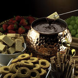 Fondue composition Stock Photo