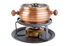 Fondue cooker Royalty Free Stock Images