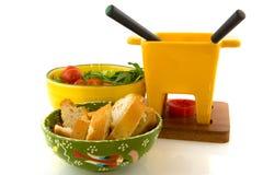 Fondue de fromage Images stock