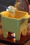 Fondue de queijo imagem de stock royalty free