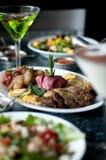 Fondue Dining Platter Stock Image