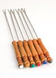 Fondue forks 2 Stock Photos