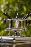 'fondue' I del verano Imágenes de archivo libres de regalías