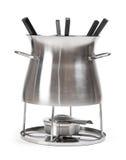 fondue set Fotografia Stock