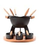 fondue set Zdjęcia Royalty Free