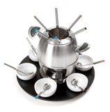 fondue set Zdjęcie Royalty Free