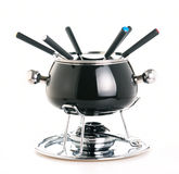 Fondue set Royalty Free Stock Photo