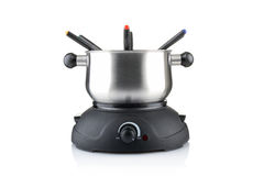 Fondue set Royalty Free Stock Images