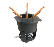 Fondue set 2 Stock Photo