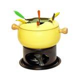 fondue set Obrazy Royalty Free
