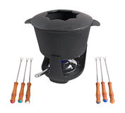 Fondue set 4 Royalty Free Stock Photo