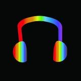 Fone de ouvido Ilustração Stock