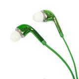 Fones de ouvido audio portáteis Foto de Stock