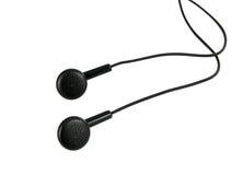 Fones de ouvido audio portáteis modernos, Imagens de Stock