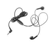Fones de ouvido audio portáteis modernos isolados Imagens de Stock Royalty Free