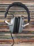 Fones de ouvido Audiophile foto de stock