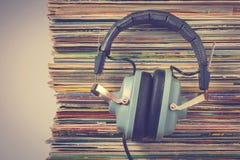 Fones de ouvido Audiophile imagem de stock royalty free