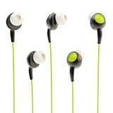 fones de ouvido da Em-orelha isolados Imagem de Stock Royalty Free