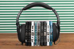 Fones de ouvido da música Imagens de Stock Royalty Free