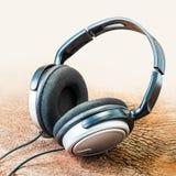 Fones de ouvido moderno Foto de Stock Royalty Free
