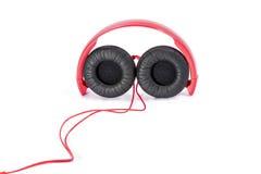 Fones de ouvido prendidos novos Foto de Stock Royalty Free