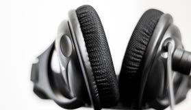 Fones de ouvido profissionais do estúdio Fotos de Stock