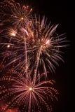 Fonkelend Vuurwerk royalty-vrije stock afbeeldingen
