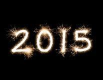 Fonkelende 2015 Stock Foto
