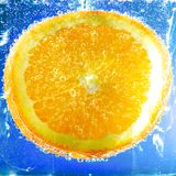 Fonkelende Sinaasappel Royalty-vrije Stock Fotografie