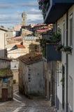 Fonni村庄,撒丁岛,意大利 免版税库存图片