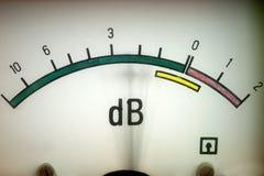 Fonometro Immagini Stock